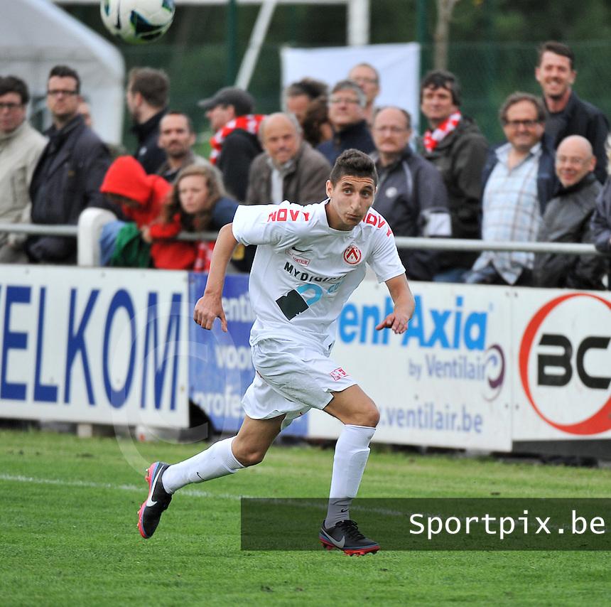 KV Kortrijk - SV Kortrijk : Sofyan Derrag<br /> foto VDB / Bart Vandenbroucke