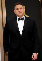 HOLLYWOOD, CA - MARCH 2: Jonah Hill arriving to the 2014 Oscars at the Hollywood and Highland Center in Hollywood, California. March 2, 2014. Credit: SP1/Starlitepics. /NORTePHOTO