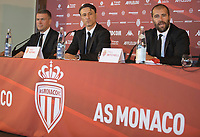 21st July 2020, Monaco, France; AS Monaco announce the employment of Niko Kovac as their new player coach at their press conference with New  Sports Director Paul Mitchell and Vice President Oleg Petrov.