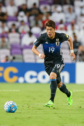 Hiroki Sakai (JPN), MARCH 23, 2017 - Football / Soccer : Hiroki Sakai of Japan during the FIFA World Cup Russia 2018 Asian Qualifier Group B match between United Arab Emirates and Japan at Hazza Bin Zayed Stadium in Al Ain, United Arab Emirates. (Photo by AFLO)