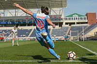 Bridgeview, IL - Saturday May 27, 2017: Vanessa DiBernardo during a regular season National Women's Soccer League (NWSL) match between the Chicago Red Stars and the North Carolina Courage at Toyota Park. The Red Stars won 3-2.