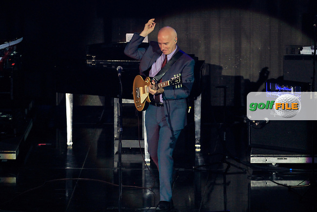 Midge Ure during the Ryder Cup Gala Concert 2014 at SSE Hydro on Wednesday 24th September 2014.<br /> Picture:  Thos Caffrey / www.golffile.ie