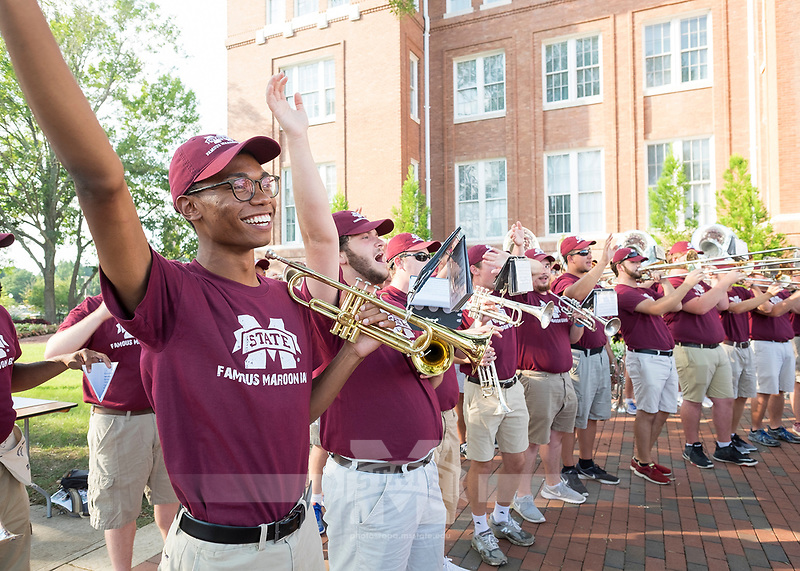 The Drill 2017<br />  (photo by Robert Lewis / &copy; Mississippi State University)
