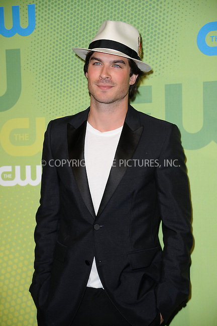 WWW.ACEPIXS.COM . . . . . ....May 21 2009, New York City....Ian Somerhalder arriving at the 2009 The CW Network UpFront at Madison Square Garden on May 21, 2009 in New York City.....Please byline: KRISTIN CALLAHAN - ACEPIXS.COM.. . . . . . ..Ace Pictures, Inc:  ..tel: (212) 243 8787 or (646) 769 0430..e-mail: info@acepixs.com..web: http://www.acepixs.com