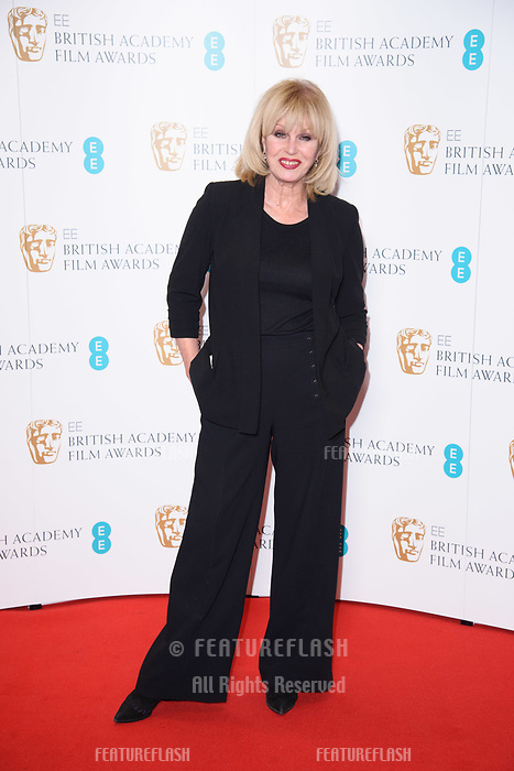 Joanna Lumley at the photocall for EE British Academy Film Awards Nominations Announcement, London, UK. <br /> 09 January  2018<br /> Picture: Steve Vas/Featureflash/SilverHub 0208 004 5359 sales@silverhubmedia.com