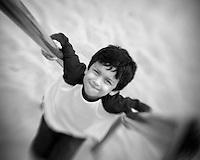 Ethan at playground