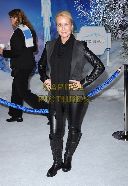 Hollywood, CA - NOVEMBER 19: Kim Richards arrives at The Disney FROZEN Premiere held at The El Capitan Theatre in Hollywood, California on November 19,2012                                                                               <br /> CAP/DVS<br /> &copy;DVS/Capital Pictures