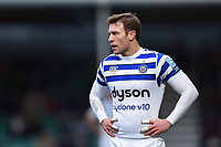 Will Chudley of Bath Rugby looks on during a break in play. Gallagher Premiership match, between Worcester Warriors and Bath Rugby on January 5, 2019 at Sixways Stadium in Worcester, England. Photo by: Patrick Khachfe / Onside Images
