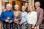 Pat Dowling, Martina Riedy, Jean Horrigan, Kay Dowling, John O'Connor, Denis Riedy enjoying the Sharon Shannon concert at O'Riada's Bar on Friday