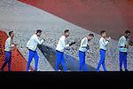 World Championships Gymnastics Mens Team Final 2015 SSE Hydro Arena.