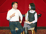 Chef Martin Yan at Jing Fong in New York on November 10, 2007. c2007 Lia Chang