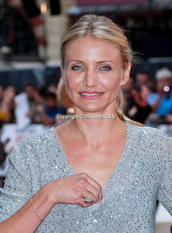 "CAMERON DIAZ.attends the UK premiere of Knight and Day, Odeon, Leicester Square, London_England_22/07/2010.Mandatory Credit Photo: ©DIASIMAGES..**ALL FEES PAYABLE TO: ""NEWSPIX INTERNATIONAL""**..IMMEDIATE CONFIRMATION OF USAGE REQUIRED:.Newspix International, 31 Chinnery Hill, Bishop's Stortford, ENGLAND CM23 3PS.Tel:+441279 324672; Fax: +441279656877.e-mail: info@newspixinternational.co.uk"