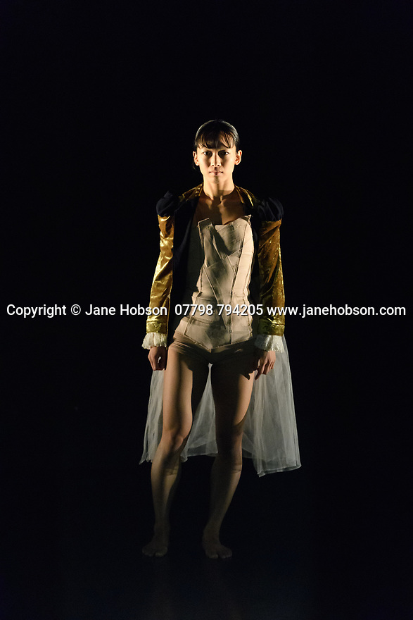 James Cousins Company presents the London premiere of ROSALIND, at The Place, from 15 to 18 March. the dancers are: Chihiro Kawasaki, Georges Hann, Heejung Kim, Inho Cho. Lighting design is by Lee Curran, costume design by Insook Choi. Picture shows: Chihiro Kawasaki