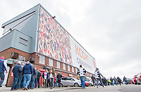 Picture by Allan McKenzie/SWpix.com - 30/03/2018 - Rugby League - Betfred Super League - Hull KR v Hull FC - KC Lightstream Stadium, Hull, England - Fans arrive at the KC LIghtstream Stadium.