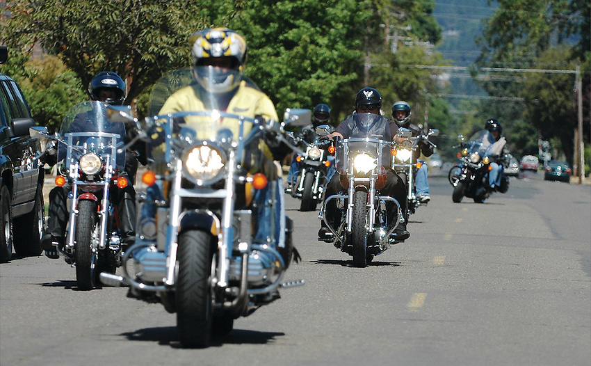 George Fox motorcycle rally