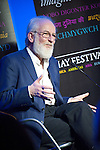 OIC - ENTSIMAGES.COM – Language experts David and Ben Crystal (pictured David Crystal) at the fifteenth Hay Festival Winter Weekend which takes place in venues around Hay-on-Wye  on the 28th 29th & 30th November. This year the Festival is honoured with the attendance of Booker Prize-winners Graham Swift and Eleanor Catton, Laura Bates, creator of the Everyday Sexism project, Danny Dorling on inequality & comedian Danny Ward.Hay-on-Wye, UK. 29th November, 2014. Photo: SnapDragon/Ents Images/OIC 0203 174 1069