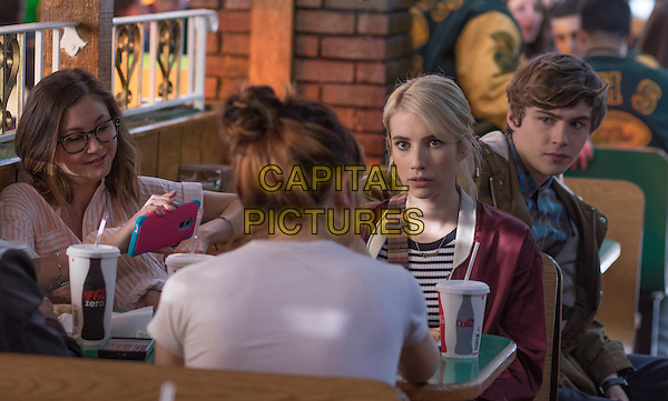 Nerve (2016) <br /> Kimiko Glenn, Emma Roberts, Miles Heizer<br /> *Filmstill - Editorial Use Only*<br /> CAP/KFS<br /> Image supplied by Capital Pictures