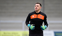 Blackpool's Myles Boney during the pre-match warm-up<br /> <br /> Photographer Chris Vaughan/CameraSport<br /> <br /> The EFL Sky Bet League One - Burton Albion v Blackpool - Saturday 16th March 2019 - Pirelli Stadium - Burton upon Trent<br /> <br /> World Copyright &copy; 2019 CameraSport. All rights reserved. 43 Linden Ave. Countesthorpe. Leicester. England. LE8 5PG - Tel: +44 (0) 116 277 4147 - admin@camerasport.com - www.camerasport.com