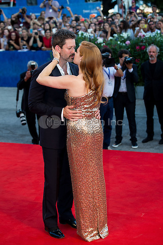 Amy Adams, Darren Le Gallo  at the premiere of Nocturnal Animals at the 2016 Venice Film Festival.<br /> September 2, 2016  Venice, Italy<br /> CAP/KA<br /> &copy;Kristina Afanasyeva/Capital Pictures /MediaPunch ***NORTH AND SOUTH AMERICAS ONLY***