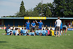 St Albans 0 Watford 5, 26/07/2014. Clarence Park, Pre Season Friendly. Pre Season friendly between St Albans City and Watford from Clarence Park Stadium. St Albans debrief after the 5-0 defeat. Watford won the game 5-0. Photo by Simon Gill.