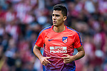 Rodrigo Hernandez, Rodri, of Atletico de Madrid warms up prior to the La Liga 2018-19 match between Atletico de Madrid and Rayo Vallecano at Wanda Metropolitano on August 25 2018 in Madrid, Spain. Photo by Diego Souto / Power Sport Images
