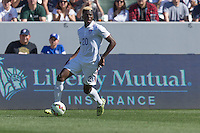Carson, CA - Sunday, February 8, 2015: Gyasi Zardes (20) of the USMNT. The USMNT defeated Panama 2-0 during an international friendly at the StubHub Center