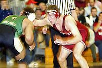 9 February 2005: Ryan Hagen during wrestling at Burnham Pavilion in Stanford, CA.