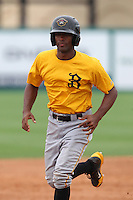 Bradenton Marauders catcher Carlos Paulino #24 during practice before a game against the Jupiter Hammerheads at Roger Dean Stadium on April 30, 2012 in Jupiter, Florida.  Bradenton defeated Jupiter 8-0.  (Mike Janes/Four Seam Images)