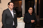 Kevin Hager and Leonard Majzlin attend the The Dramatists Guild Foundation's  dgf salon with Henry Krieger hosted by Leonard Majzlin on December 11, 2018 in New York City.