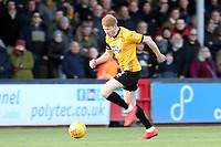Brad Halliday of Cambridge United during Cambridge United vs Port Vale, Sky Bet EFL League 2 Football at the Cambs Glass Stadium on 9th February 2019