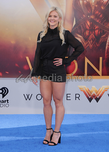 "25 May 2017 - Hollywood, California - Brooke Ence. World  Premiere of Warner Bros. Pictures'  ""Wonder Woman"" held at The Pantages Theater in Hollywood. Photo Credit: Birdie Thompson/AdMedia"