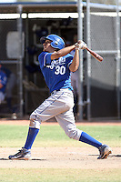 Mike Antonio - Kansas City Royals - 2010 Instructional League.Photo by:  Bill Mitchell/Four Seam Images..