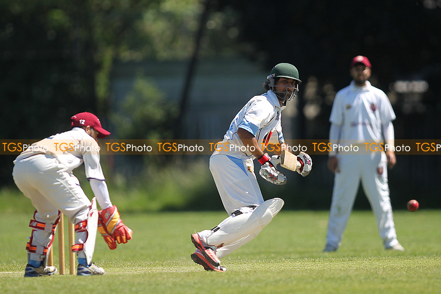 K Iqbal of Newham during Newham CC vs Barking CC, Essex County League Cricket at Flanders Playing Fields on 10th June 2017