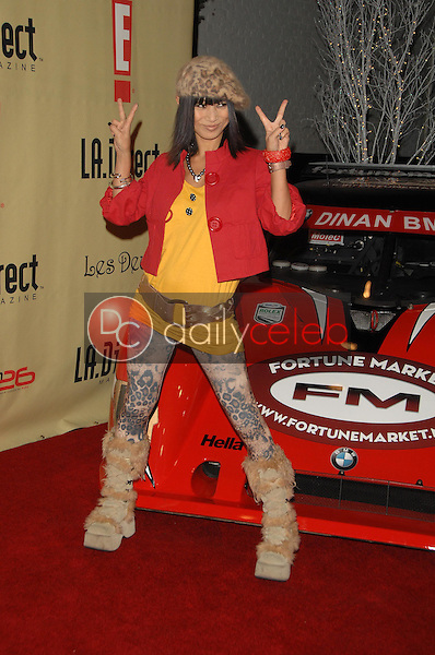 """Bai Ling<br />at the """"Remember To Give"""" Holiday Party hosted by L.A. Direct Magazine, E! Network and Ronald McDonald Charities. Les Deux, Hollywood, CA. 12-13-07<br />Dave Edwards/DailyCeleb.com 818-249-4998"""