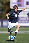 21 October 2012: Penn State's Grant Warming. The Northwestern University Wildcats played the Penn State University Nittany Lions at Lakeside Field in Evanston, Illinois in a 2012 NCAA Division I Men's Soccer game. Penn State won the game 1-0 in golden goal overtime.