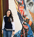 Bat Mitzvah Portraits With Various Grafitti Walls in New York City.
