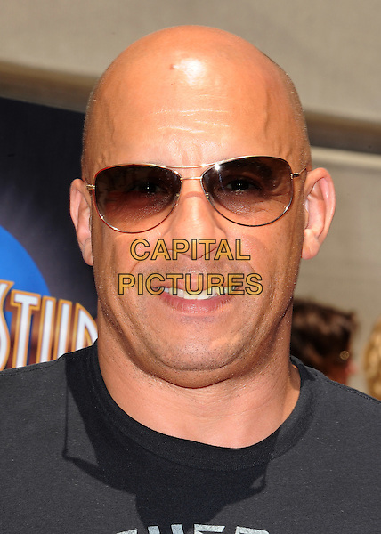 UNIVERSAL CITY, CA - JUNE 23:  Vin Diesel at the &quot;Fast &amp; Furious - Supercharged&quot; thrill ride world premiere at Universal Studios Hollywood on June 23, 2015 in Universal City, California. Credit: PGSK/MediaPunch<br /> CAP/MPI/DC/DE<br /> &copy;DE/DC/MPI/Capital Pictures
