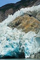 North Sawyer Glacier at waters edge
