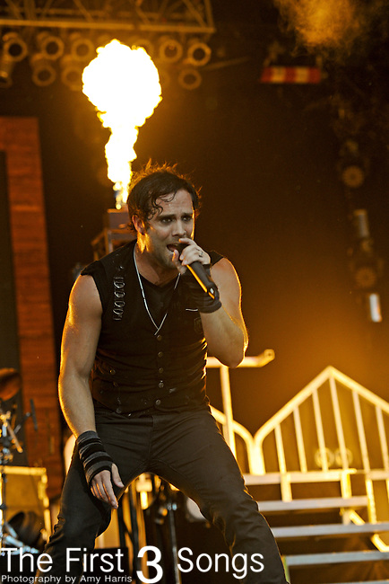 John Cooper of Skillet performs during day two of the 2011 Rock Fest on July 15, 2011 in Cadott, Wisconsin.