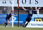 Ross County's Craig Curran celebrates his opening goal