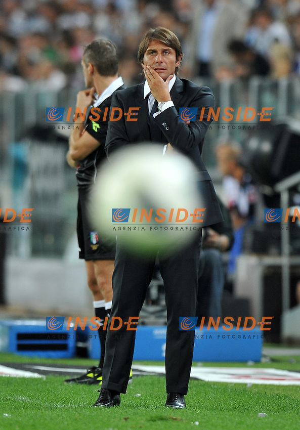 "Antonio CONTE (Juventus).Torino 8/9/2011 Stadio ""Juventus stadium"".Football Calcio 2011/2012 Friendly match.Football Calcio Juventus Vs Notts County.Foto Insidefoto Alessandro Sabattini..."