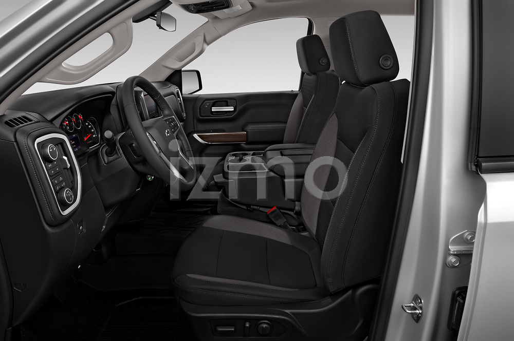 Front seat view of 2019 Chevrolet Silverado-1500 RST 4 Door Pick-up Front Seat  car photos