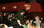 General Hospital's Bradford Anderson chats with fans at the Brokerage Comedy Club on February 21, 2009 in Bellmore, New York to see their fans as they sign and pose for photos, do a show for the fans and Bradford plays Simon Says with his fans. ALSO Bradford sang for all and he was great. (Photo by Sue Coflin/Max Photos)