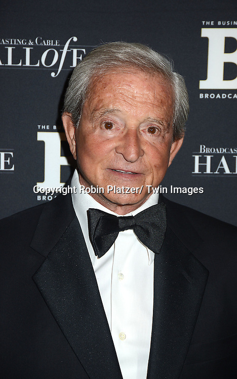 Judge Jerry Scheindlin  attends the Broadcasting and Cable Hall of Fame Awards .on December 17, 2012 at The Waldorf  Astoria Hotel in New York City.