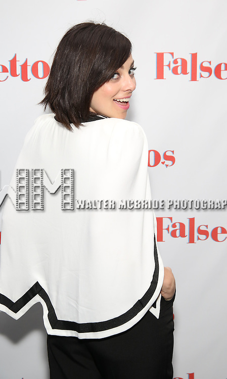 Krysta Rodriguez attends the Opening Night After Party for 'Falsettos'  at the New York Hilton Hotel on October 27, 2016 in New York City.