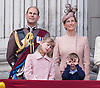 PRINCE EDWARD, SOPHIE,COUNTESS OF WESSEX, LADY LOUISE AND JAMES, VISCOUNT SEVERN<br /> appear on the balcony of Buckingham Palace to watch the Royal Air Force Flypast as part of the Trooping of the Colour, London_15th June 2013<br /> The annual event marks the Queen's Official Birthday.<br /> Photo Credit: &copy;Dias/NEWSPIX INTERNATIONAL<br /> <br /> **ALL FEES PAYABLE TO: &quot;NEWSPIX INTERNATIONAL&quot;**<br /> <br /> PHOTO CREDIT MANDATORY!!: NEWSPIX INTERNATIONAL<br /> <br /> IMMEDIATE CONFIRMATION OF USAGE REQUIRED:<br /> Newspix International, 31 Chinnery Hill, Bishop's Stortford, ENGLAND CM23 3PS<br /> Tel:+441279 324672  ; Fax: +441279656877<br /> Mobile:  0777568 1153<br /> e-mail: info@newspixinternational.co.uk