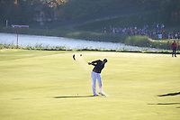 Phil Mickelson (Team USA) on the 7th fairway during the Saturday morning Foursomes at the Ryder Cup, Hazeltine national Golf Club, Chaska, Minnesota, USA.  01/10/2016<br /> Picture: Golffile | Fran Caffrey<br /> <br /> <br /> All photo usage must carry mandatory copyright credit (&copy; Golffile | Fran Caffrey)