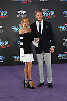 """19 April 2017 - Hollywood, California - David Hasselhoff, Hayley Roberts. Premiere Of Disney And Marvel's """"Guardians Of The Galaxy Vol. 2"""" held at Dolby Theatre. Photo Credit: PMA/AdMedia"""
