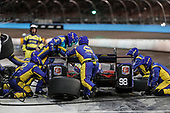 Verizon IndyCar Series<br /> Desert Diamond West Valley Phoenix Grand Prix<br /> Phoenix Raceway, Avondale, AZ USA<br /> Saturday 29 April 2017<br /> Alexander Rossi, Andretti Herta Autosport with Curb-Agajanian Honda pit stop<br /> World Copyright: Michael L. Levitt<br /> LAT Images