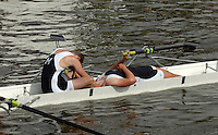 Henley, Great Britain.   Molesey BC, left Ronan LOMAS and James ROAD, Collapse after losing to Henley RC in the Britannia Challenge Cup, at  Henley Royal Regatta. Henley Reach, England 04.07.2007 [Mandatory credit Peter Spurrier/ Intersport Images] Rowing Courses, Henley Reach, Henley, ENGLAND . HRR.